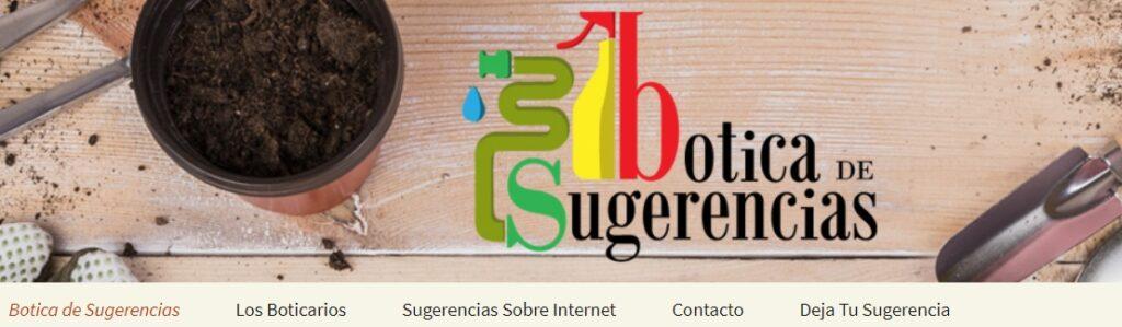 botica de sugerencias Internet Páginas Web Tiendas Online Correo Hosting Marketing Online y Marketing Digital